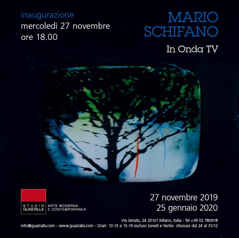 MARIO SCHIFANO - IN ONDA TV