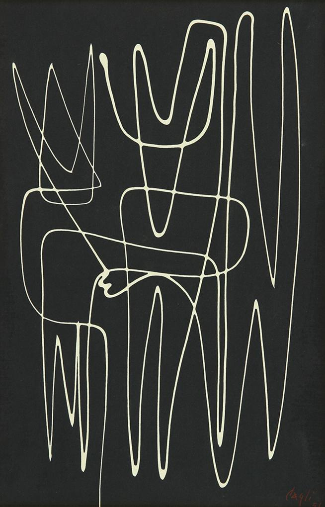 Corrado Cagli. Paura del Totem