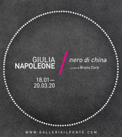 Giulia Napoleone nero di china