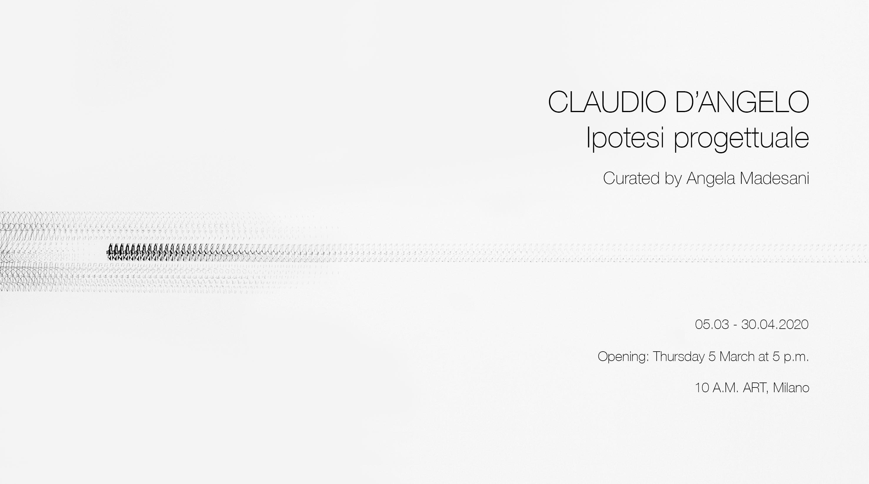Claudio D'Angelo. Ipotesi progettuale