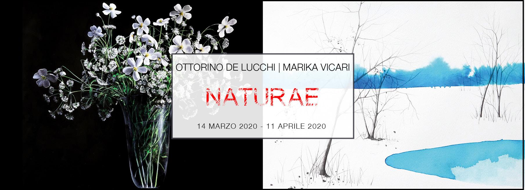 OTTORINO DE LUCCHI - MARIKA VICARI   NATURAE