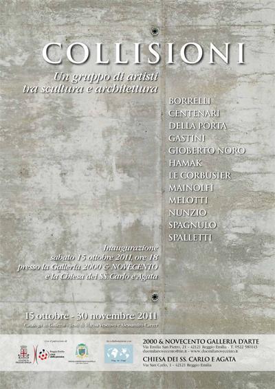 Collisioni. Un gruppo di artisti tra scultura e architettura