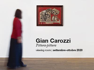 Gian Carozzi, Pittura-pittura