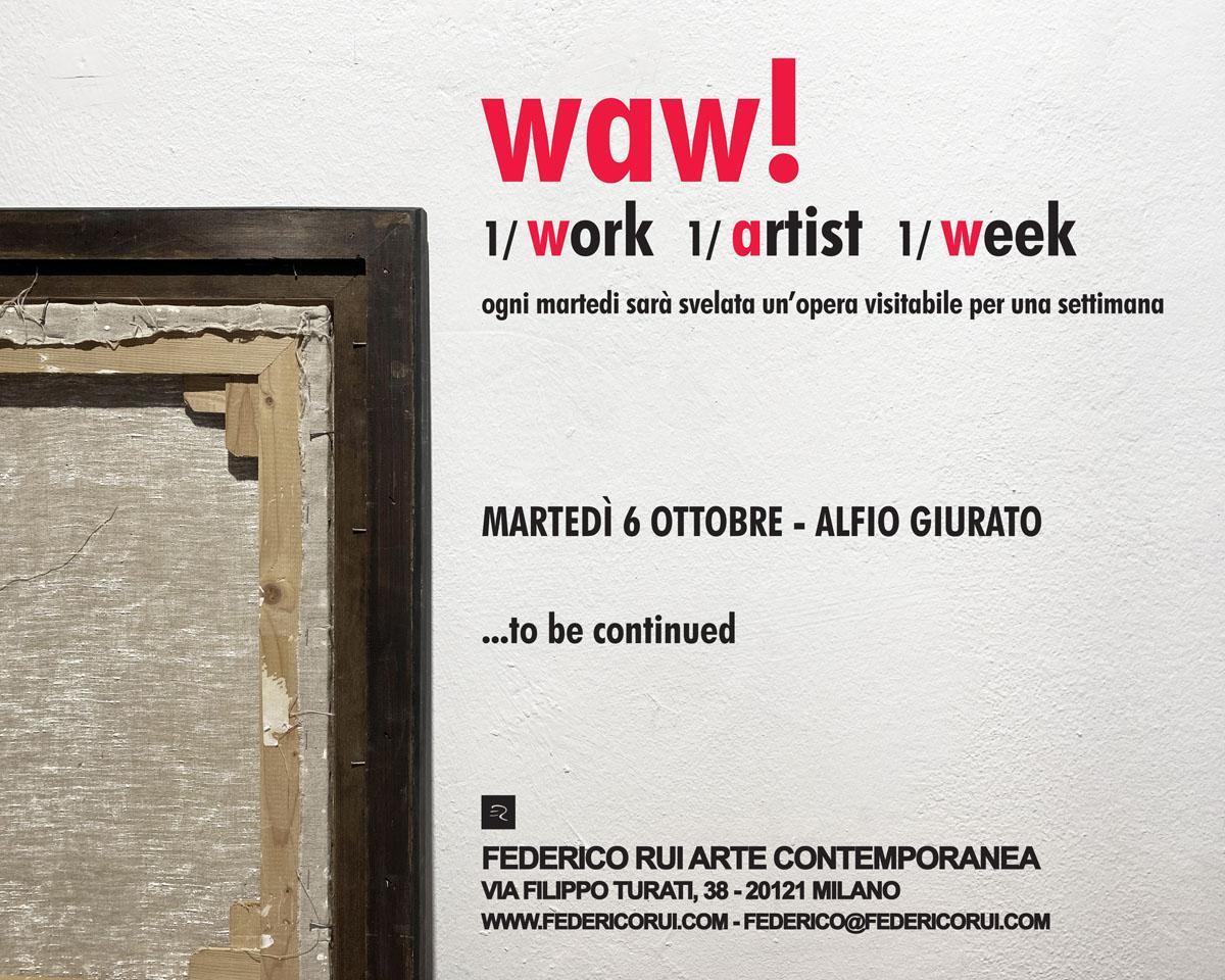 waw! 1/work 1/artist 1/week
