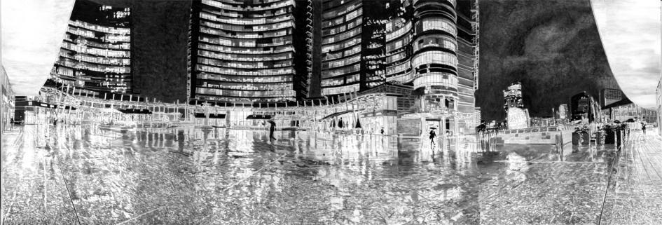 FABRIZIO BOLDRINI d'un TRATTO: la Milano del 2000