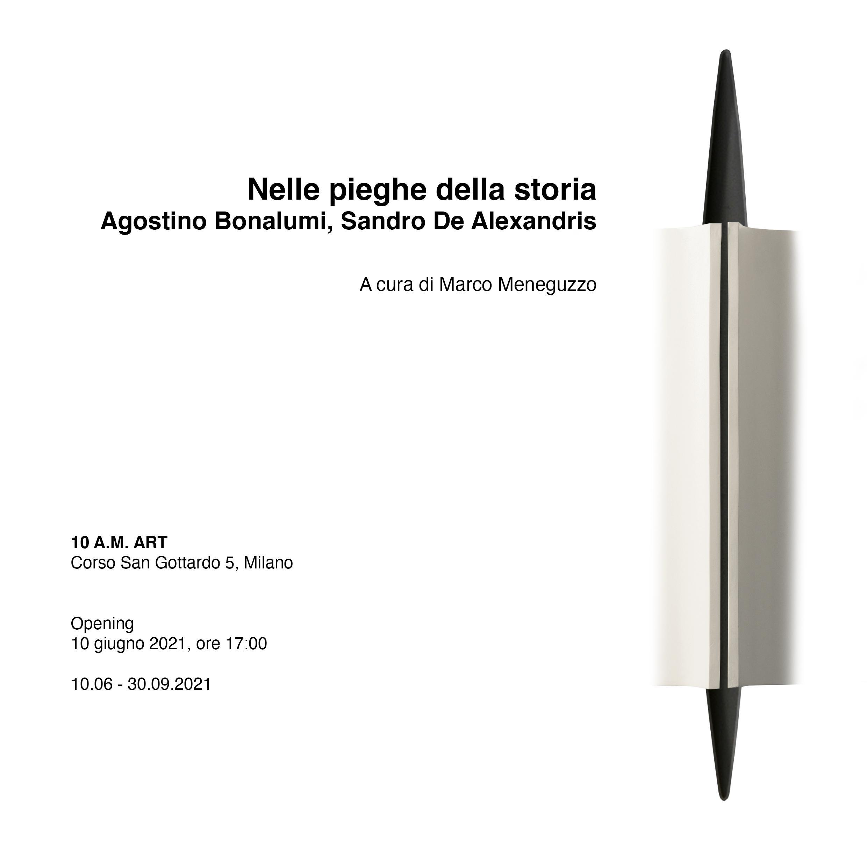 Nelle pieghe della storia. Agostino Bonalumi, Sandro De Alexandris