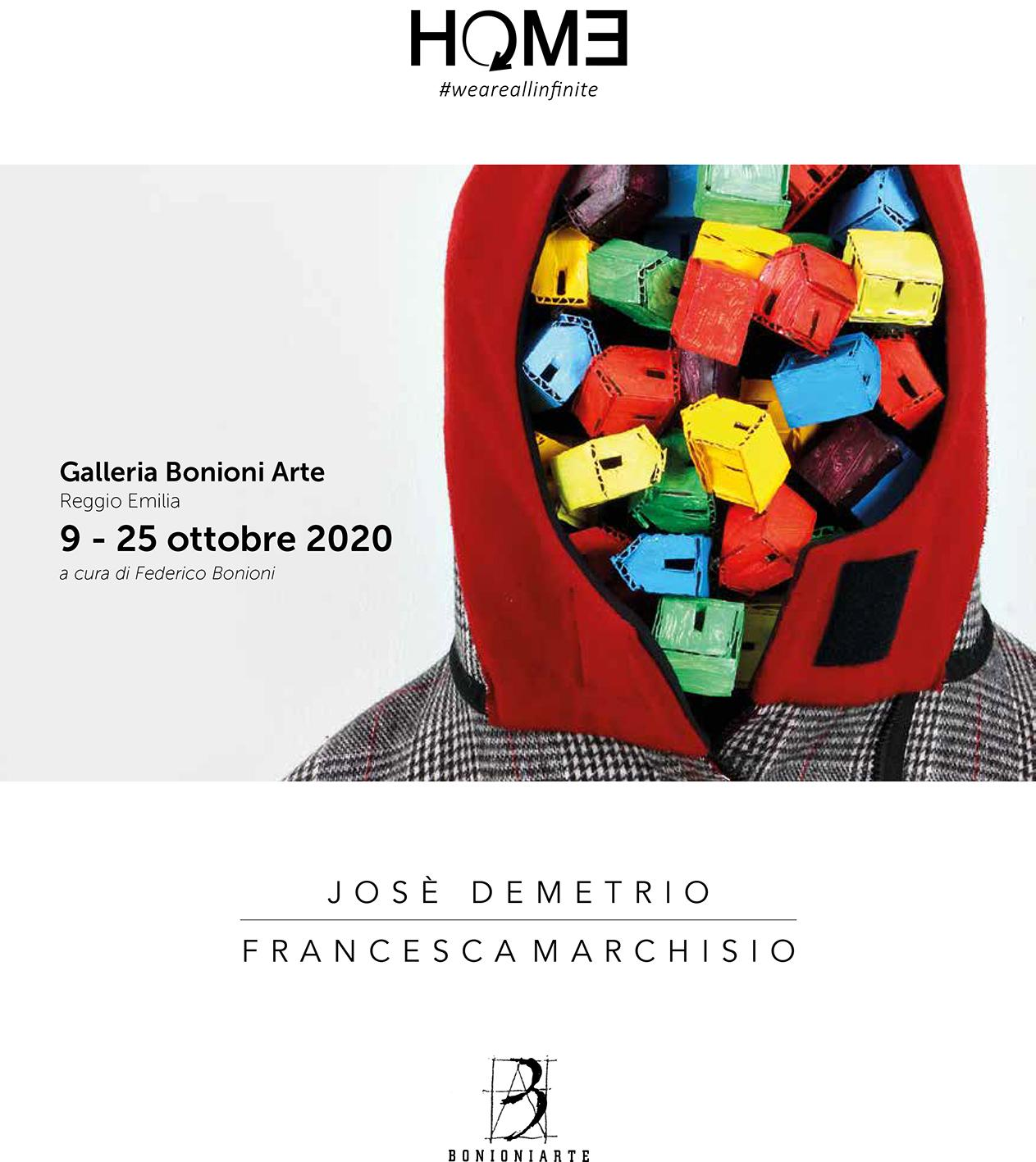Josè Demetrio Peña e Francesca Marchisio, Home. #weareallinfinite