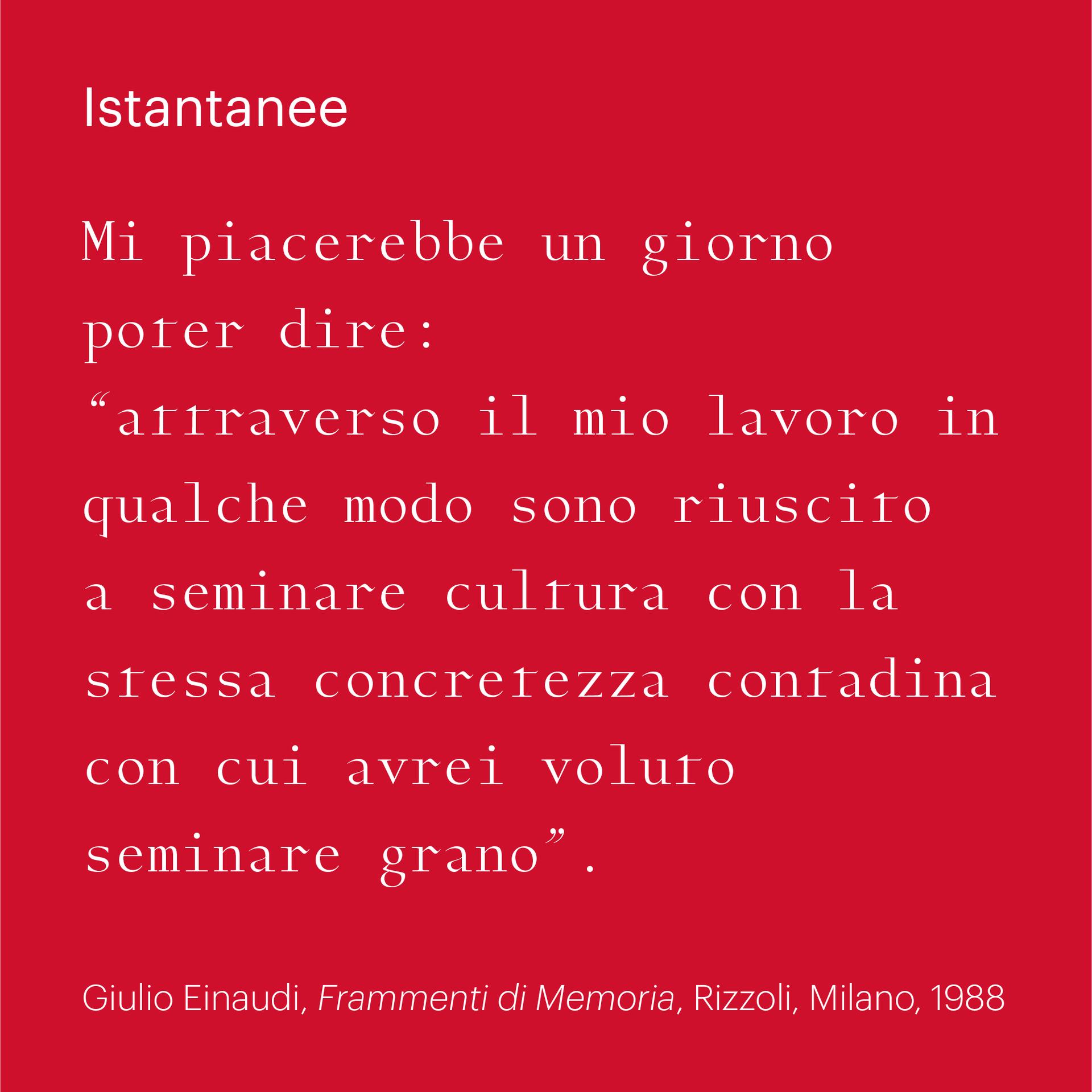 Istantanee – 25 years