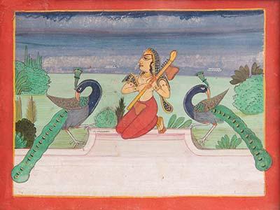 I colori dell'India Miniature dalla collezione Mutti