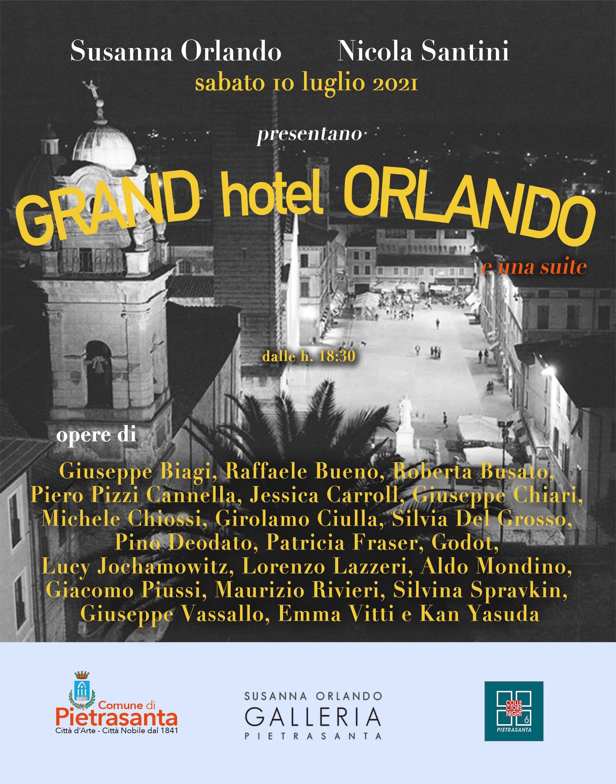 GRAND hotel ORLANDO e una suite