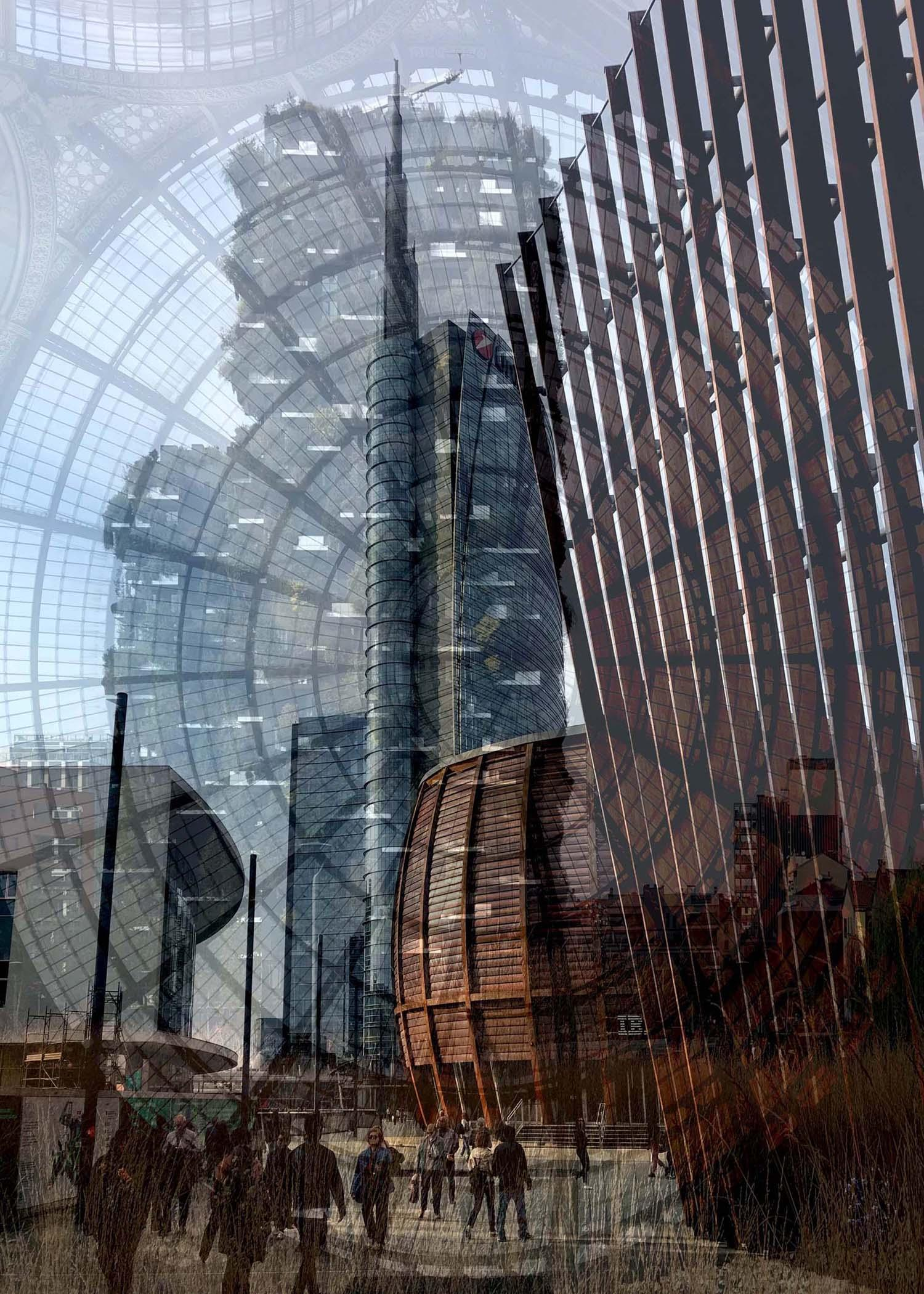 """""""NEW YORK, NEW DELHI, NEW OLD"""" di Davide Bramante"""