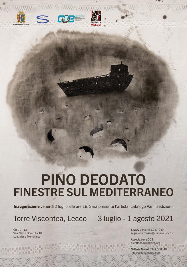Pino Deodato. Finestre sul Mediterraneo